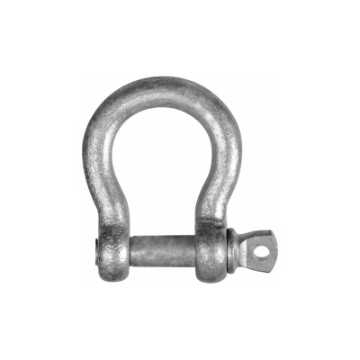 GALV BOW SHACKLE 12MM