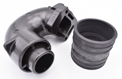 ELBOW-EXHAUST 12076A2