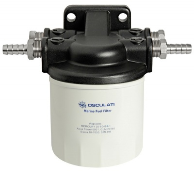 Water Separating Fuel Filter Assembly - Marine Inboard & Outboard Engines
