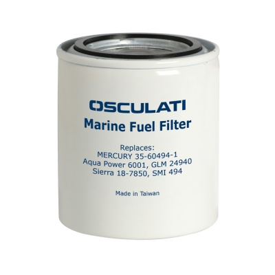 Water Separating Fuel Filter, Spin-On Type - Replaces Volvo Penta pn 855686
