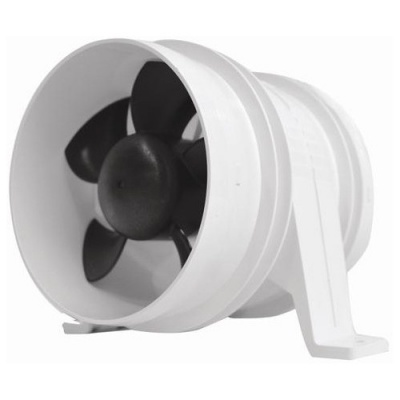4-INCH TURBO IN-LINE BLOWER - WATER RESISTANT