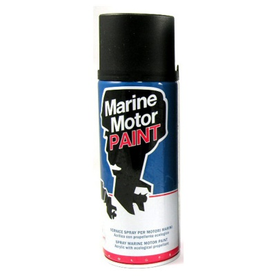 BLACK ANTI-FOUL SPRAY PAINT