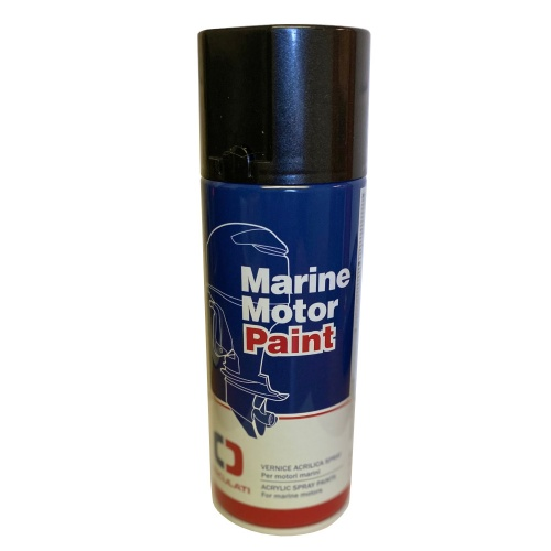 Marine Grade Suzuki 4 Stroke Outboard Motor Engine Paint - Metallic Black