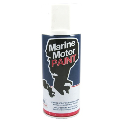 Marine Grade Yamaha Outboard Motor Engine Paint, 2010 & Up - White, non-Metallic