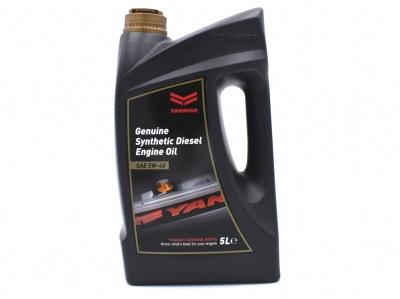 Genuine Yanmar Marine Premium Synthetic Diesel Engine Oil 5W40 - 5 Litres