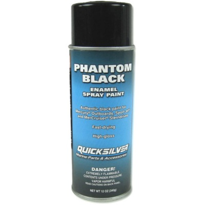 Enamel Spray  Phantom Black