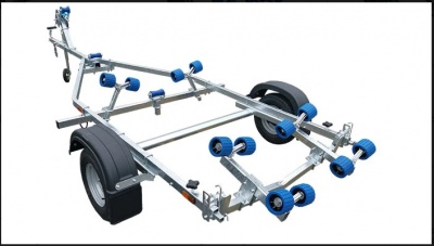 EXT750 Compact Swing Trailer