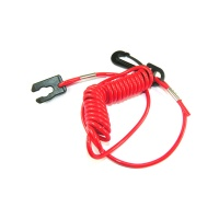 Johnson Evinrude & Honda Outboard Engine Safety Lanyard Stop Kill Switch Cord