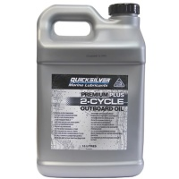 Quicksilver Premium Plus 2-Stroke Outboard Engine OIl TCW3+ 10 Litre