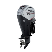 Brand New! Mariner F75 ELPT EFI Outboard Engine 75hp