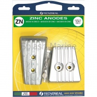 ZINC ANODE KIT VOLVO PENTA SX-A / DPS-A STERN DRIVES