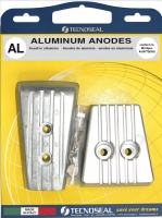 ALUMINIUM ANODE KIT VOLVO PENTA SX-A DPS-A STERN DRIVES - SALT & FRESH WATER USE