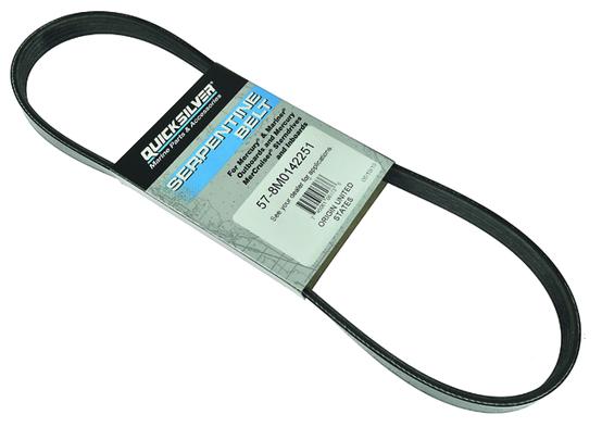 Quicksilver Alternator Belt 8M0031641 Automotive Replacement Parts ...